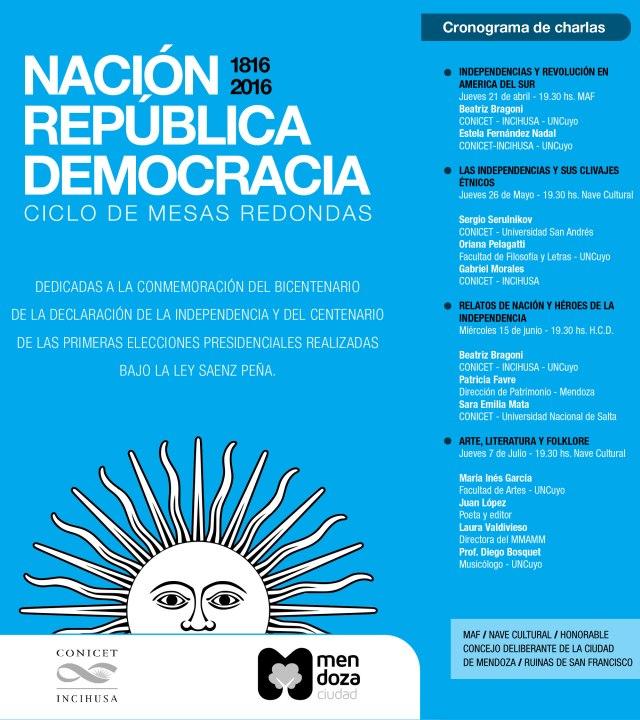 BicentenarioIndependencia-MesasRedondas.cronograma
